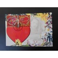 Coeurs Jean Louis Ssherrer - Oblit 7/1/06 Paris - Maximum Cards