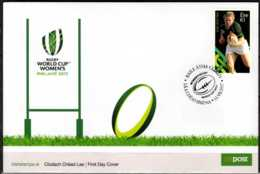 2017 Ireland - Women Rugby World Cup 2017, Ireland - FDC  MiNr. 2227 - Rugby