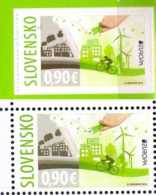 2016 Slovakia Europa CEPT Think Green Full Set 1v Paper +1v From MH S.adhesive - MNH**  MiNr. 789/790 - Slowakische Republik