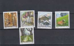 2002 Österreich - Standsrt Set: Ferienland Österreich/ Vacations In Austria - 5 V MNH** Mi 2363/7 (hj) Cows, Snow, Wien - 1945-.... 2. Republik