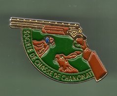 SOCIETE DE CHASSE DE CHANONAT *** 0095 - Badges
