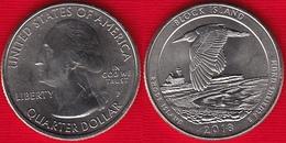 "USA Quarter (1/4 Dollar) 2018 P Mint ""Block Island, Rhode Island"" UNC - Émissions Fédérales"