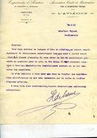 77 PROVINS  ASSOCIATION CIVILE Pour La VULGARISATION De L'AVIATION Expériences En FRANCE Et à L'étrang  Lettre  De 1911 - Provins