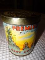 NAVY CUT - BOITE METAL DE 50 CIGARETTES - PREMIER'S MEDIUM - LONDON - Around Cigarettes