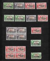 Falkland Island Dependencies, KGVI 1944 Optd Small Selection  MNH/MM (7277) - Falkland Islands