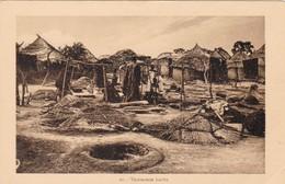 AFRIQUE. DAHOMEY. BENIN  CPA. TEINTURERIE BARIBA - Dahomey