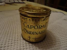 BOITE DE TABAC CAPORAL ORDINAIRE PLEINE - 50 GRAMMES - SCAFERLATI (POUR COLLECTION UNQUEMENT) - Pipes & Accessoires