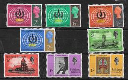 Falkland Island 1968/69 Two Sets MNH * (7280) - Falkland Islands