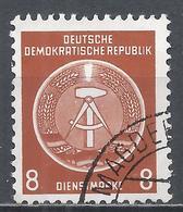 German Democratic Republic 1954. Scott #O3 (U) Arms Of Republic * - [6] Oost-Duitsland