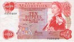 MAURICE - TEN RUPEES - Mauritius