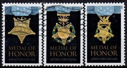 VERINIGTE STAATEN ETATS UNIS USA 2015 MEDAL OF HONOR: VIETNAM WAR SET OF 3V. SC 4988A-C - Usados