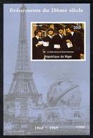 Niger 1998, 20th Century, Beatles, BF IMPERFORATED - Muziek