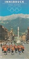 Innsbruck - Tyrol Austria - Vouwfolder - Dépliants Touristiques