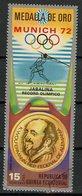 Guinée Equatoriale - Guinea 1972 Y&T N°(10) - Michel N°(?) (o) - 15p JO Munich 1972 - Equatorial Guinea