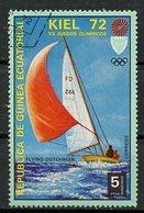 Guinée Equatoriale - Guinea 1972 Y&T N°(12) - Michel N°(?) (o) - 5p JO Munich-Kiel 1972 - Equatorial Guinea
