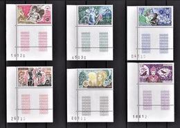 MONACO 1980 SERIE N°1235 A 1240  6 TP NEUFS** - Unused Stamps