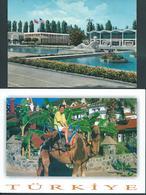 Turchia Turkey 1963-2002, Two Postcards From Turkey - Turchia