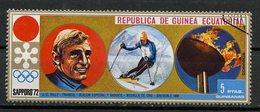Guinée Equatoriale - Guinea 1972 Y&T N°(14) - Michel N°(?) (o) - 5p JO Sapporo 1972 - Equatorial Guinea