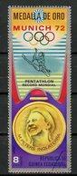 Guinée Equatoriale - Guinea 1972 Y&T N°(9) - Michel N°(?) (o) - 8p JO Munich 1972 - Equatorial Guinea