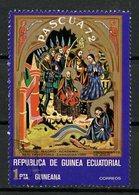 Guinée Equatoriale - Guinea 1972 Y&T N°(1) - Michel N°(?) (o) - 1p Pâques 1972 - Equatorial Guinea