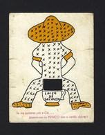 Cartão Publicitario FABRICA  De LOIÇA De SACAVEM. Incompleto - Lisboa