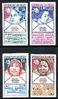 Niger 1974, 100th UPU, 4val IMPERFORATED - UPU (Universal Postal Union)