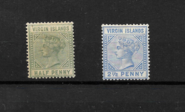 British Virgin Islands QV 1883 Mint Selection* (7296) - British Virgin Islands