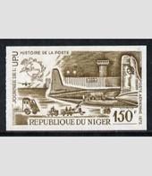 Niger 1965, UPU Day, Plane, 1val IMPERFORATED - UPU (Universal Postal Union)
