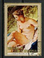 Guinée Equatoriale - Guinea 1973 Y&T N°(3) - Michel N°(?) (o) - 3p œuvre De Boucher - Equatorial Guinea
