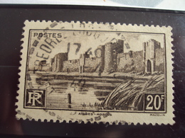 """1900-1945-timbre Oblitéré N°   501  """"   Aigues Mortes Remparts    """"     Cote  1.25       Net  0.40 - France"""