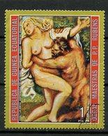 Guinée Equatoriale - Guinea 1973 Y&T N°(6) - Michel N°(?) (o) - 1p œuvre De Rubens - Equatorial Guinea