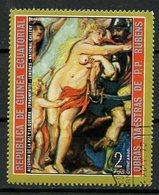 Guinée Equatoriale - Guinea 1973 Y&T N°(7) - Michel N°(?) (o) - 2p œuvre De Rubens - Equatorial Guinea