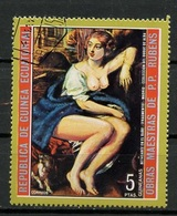 Guinée Equatoriale - Guinea 1973 Y&T N°(8) - Michel N°(?) (o) - 5p œuvre De Rubens - Equatorial Guinea