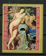 Guinée Equatoriale - Guinea 1973 Y&T N°(9) - Michel N°(?) (o) - 8p œuvre De Rubens - Equatorial Guinea