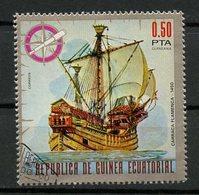 Guinée Equatoriale - Guinea 1975 Y&T N°(3) - Michel N°(?) (o) - 0,50p Caravelle Flamande - Equatorial Guinea