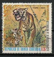 Guinée Equatoriale - Guinea 1976 Y&T N°(1) - Michel N°(?) (o) - 0,35p Animaux D'Asie - Equatorial Guinea