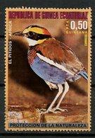 Guinée Equatoriale - Guinea 1976 Y&T N°(11) - Michel N°(?) (o) - 0,50p Oiseau D'Afrique - Equatorial Guinea