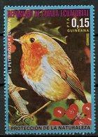 Guinée Equatoriale - Guinea 1976 Y&T N°(13) - Michel N°(?) (o) - 0,10p Oiseau D'Europe - Equatorial Guinea