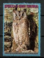 Guinée Equatoriale - Guinea 1976 Y&T N°(14) - Michel N°(?) (o) - 0,15p Oiseau D'Europe - Equatorial Guinea
