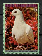 Guinée Equatoriale - Guinea 1976 Y&T N°(15) - Michel N°(?) (o) - 5p Oiseau D'Europe - Equatorial Guinea
