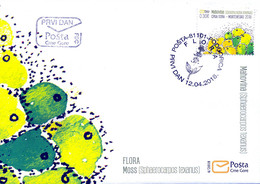 2018 FDC, Flora, Montenegro, MNH - Montenegro
