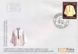 2018 Montenegrin Art, Women's Shirt, Montenegro, MNH - Montenegro