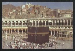 Saudi Arabia Old Picture Postcard Holy Mosque Ka'aba Mecca Islamic View Card - Saudi Arabia
