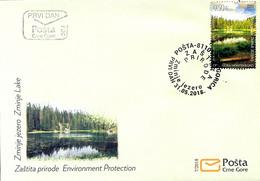 2018 Nature Protection, Zminje Jezero, Montenegro, MNH - Montenegro