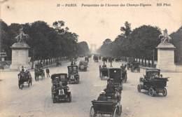 75 - PARIS - Perspective De L'Avenue Des Champs-Elysées - Champs-Elysées