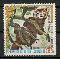 Guinée Equatoriale - Guinea 1976 Y&T N°(7) - Michel N°(?) (o) - 0,45p Panda - Equatorial Guinea