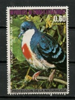 Guinée Equatoriale - Guinea 1976 Y&T N°(8) - Michel N°(?) (o) - 0,60p Oiseau D'Asie - Equatorial Guinea