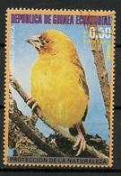 Guinée Equatoriale - Guinea 1976 Y&T N°(9) - Michel N°(?) (o) - 0,30p Oiseau D'Afrique - Equatorial Guinea
