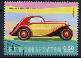 Guinée Equatoriale - Guinea 1977 Y&T N°(1) - Michel N°(?) (o) - 0,50e Panhard Lavassor 1934 - Guinée Equatoriale