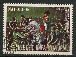 Guinée Equatoriale - Guinea 1977 Y&T N°(10) - Michel N°(?) (o) - 0,50e Napoléon - Equatorial Guinea